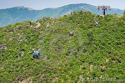 Samochodów Hakone ropeway