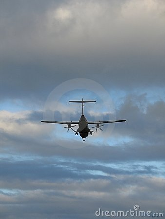 Samolot do lądowania