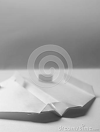Samolot origami papieru