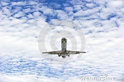 Samolotowy lądowanie