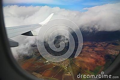 Samolotowy okno