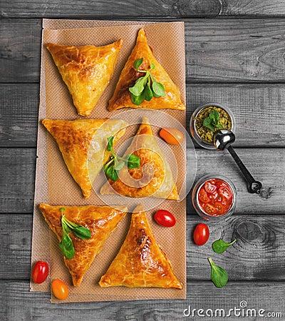 Free Samosa  Food Photo Stock Image - 71641611