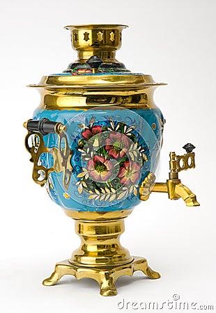Samovar - old russian teapot