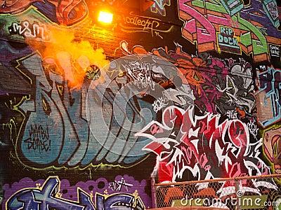 Under Pressure Graffiti Festival 2012 - 3 Editorial Stock Photo