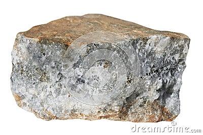 The sample of quartz sulphidic gold-bearing ore