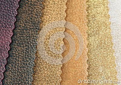 Samples of artificial skin