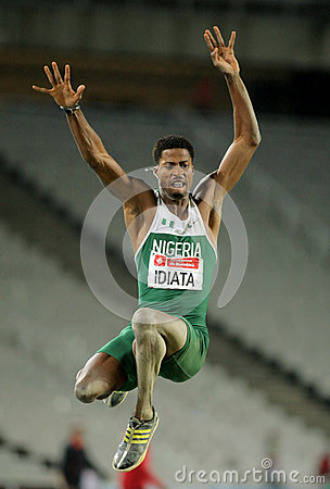 Samson Idiata of Nigeria Editorial Stock Photo
