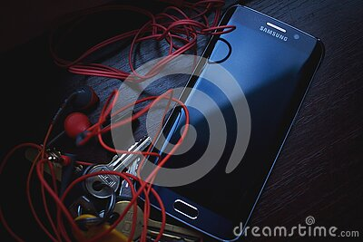Samsung Black Galaxy S6 Edge Free Public Domain Cc0 Image