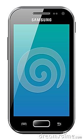 Samsung Galaxy Ace 2 Editorial Stock Photo