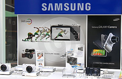 Samsung smart camera Editorial Stock Photo