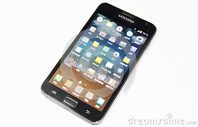 Samsung Galaxy Note Editorial Stock Image