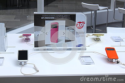 Samsung Galaxy S4 Editorial Stock Photo