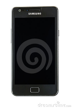 Samsung galaxy s2 Editorial Stock Image