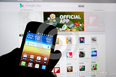 Samsung Galaxy Smart phone Editorial Stock Photo
