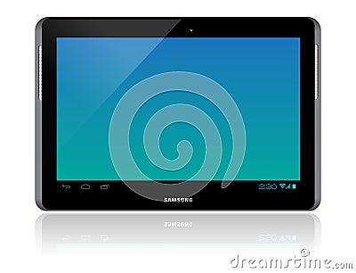 Samsung Galaxy Tab 2 10.1 Editorial Photo