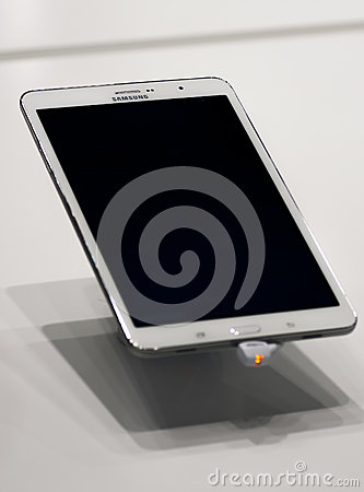 SAMSUNG GALAXY TAB PRO, MOBILE WORLD CONGRESS 2014 Editorial Photo