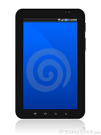 Samsung Galaxy Tablet Editorial Stock Image