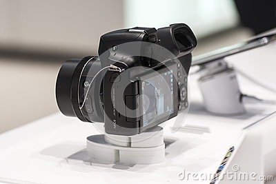 SAMSUNG NX30, MOBILE WORLD CONGRESS 2014 Editorial Image