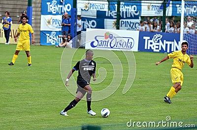 Samuel Eto o Editorial Photo