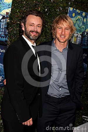 Samuel Goldwyn,Michael Sheen,Owen Wilson Editorial Image