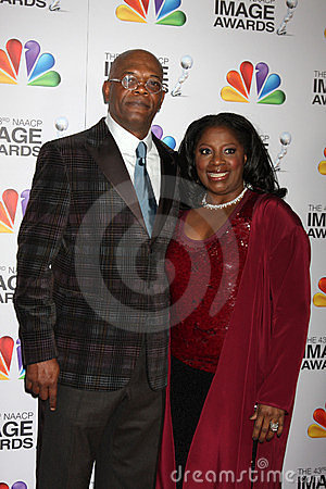 Samuel L. Jackson, LaTanya Richardson Editorial Photo
