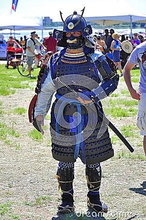 Samurai Editorial Photo