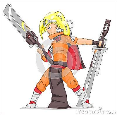 Samurai from future