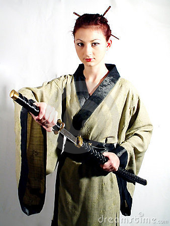 Samurai girl #5