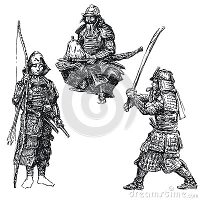 Samurai - japanese warrior
