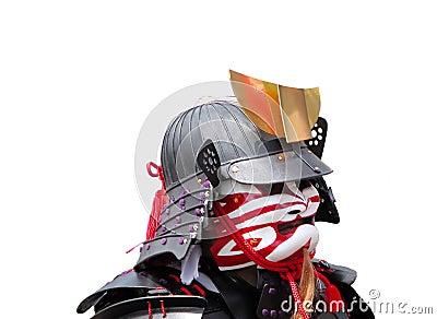 Samurai portrait