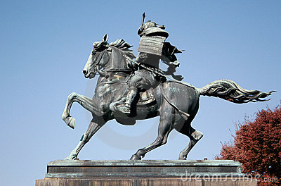 Samurai Riding Horse