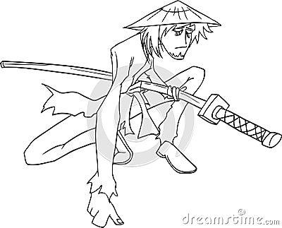 Samurai Vector Royalty Free Stock Photography - Image ...