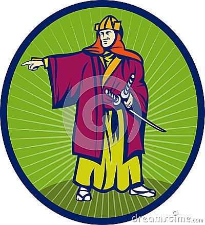 Free Samurai Warrior Katana Sword Stock Photos - 14458033