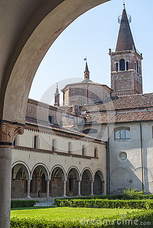San Benedetto Po - Cloister of the abbey