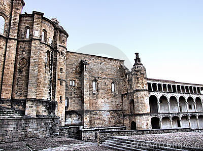 San Benito monastery in Alcantara