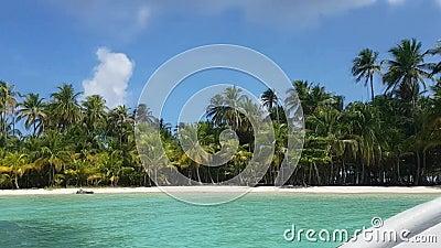 San Blas Island, Panama Amerika planerar det centrala bildspråk nasa arkivfilmer