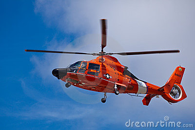 SAN CARLOS, CA - JUNE 19: Helicopter Eurocopter HH Editorial Stock Image