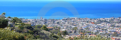 San Clemente Pier taken From Misty Ridge