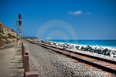 San Clemente Train Tracks