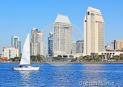 San Diego Bay Scene