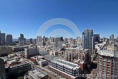 San Diego City Buildings Skyline