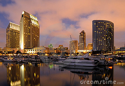 San Diego downtown