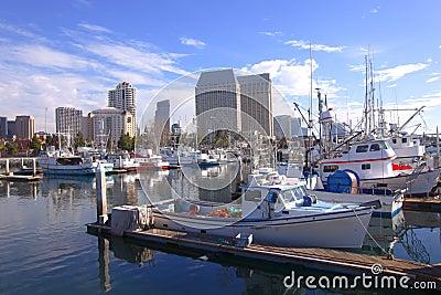 San Diego Marina.