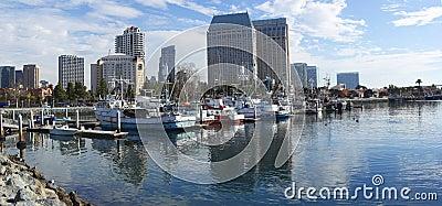 San Diego Marina panorama.