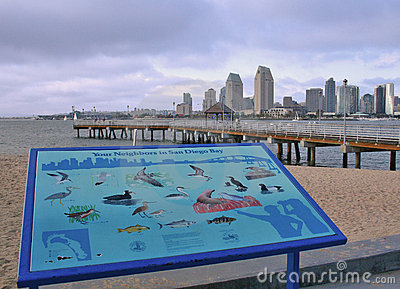 Diego Photography on Stock Photo  San Diego Skyline And Ferry Landing  Image  1120390