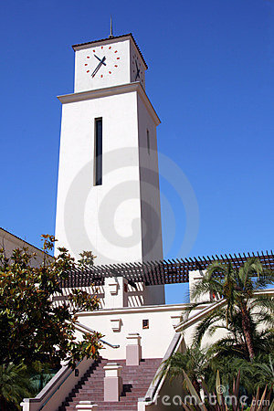 Free San Diego State University Clock Tower Stock Photo - 6140200