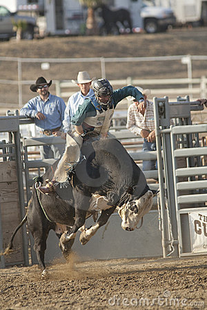 San Dimas Bull Riding Editorial Photo