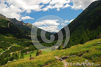 San Domenico, Varzo. Italian Alps