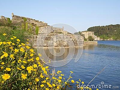 San Felipe castle in Ferrol