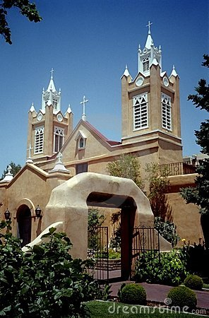 Free San Felipe Church-New Mexico Stock Photos - 1183133